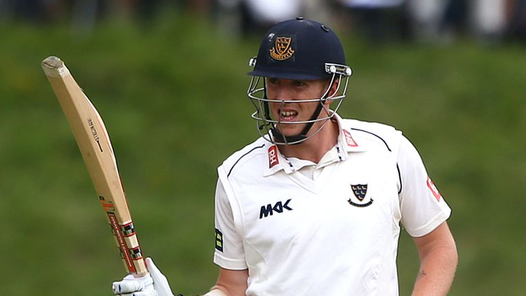 Luke Wells: Helped Sussex secure a County Championship draw with Yorkshire
