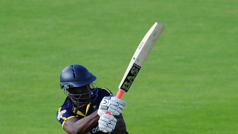 Darren Sammy: Failed in his bid to see Glamorgan to victory over Hampshire