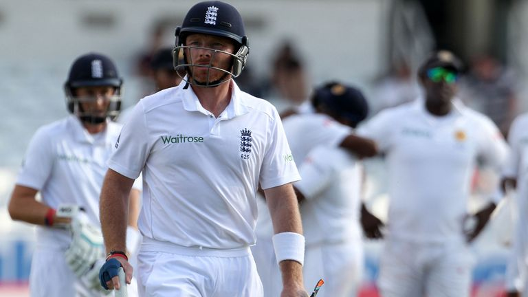Ian Bell: Was one of five England batsmen to fall before the close on day four