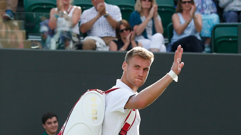Daniel Smethurst: Could not manage to cause an upset against John Isner