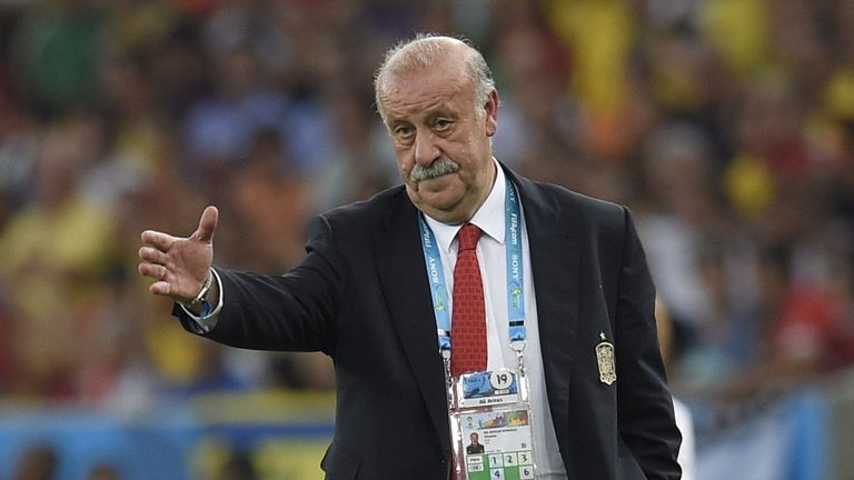 Spain's coach Vicente Del Bosque: considering his future
