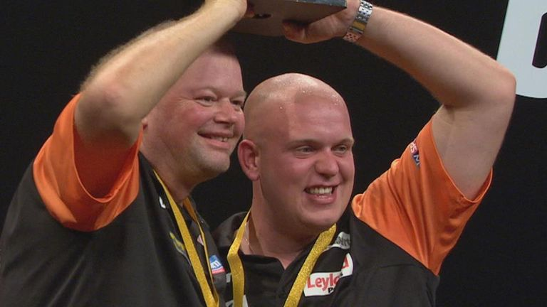 The Netherlands won their second World Cup of Darts title