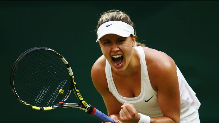Eugenie Bouchard faces a semi-final test against Simona Halep