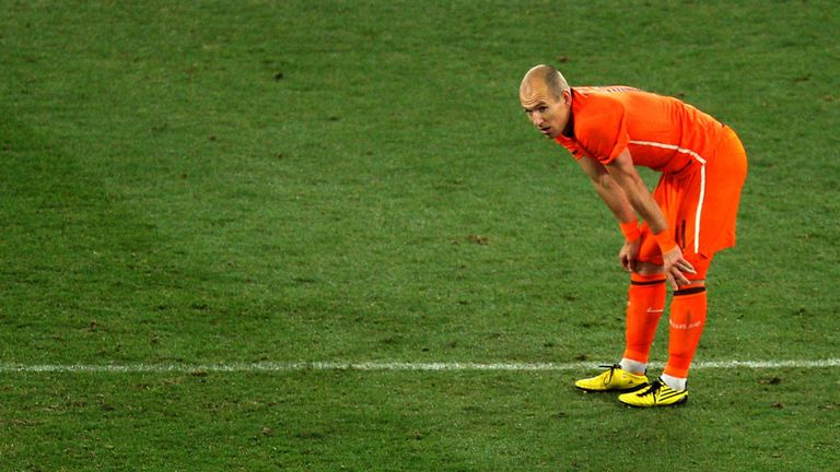 Arjen Robben: Unable to take his team into the final