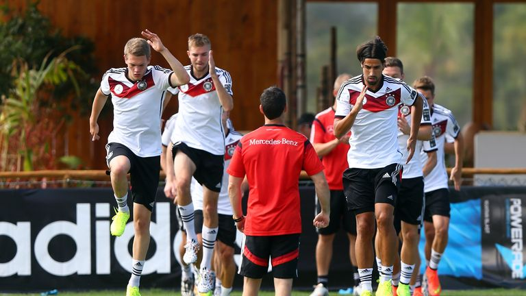 Germany: At training on Friday