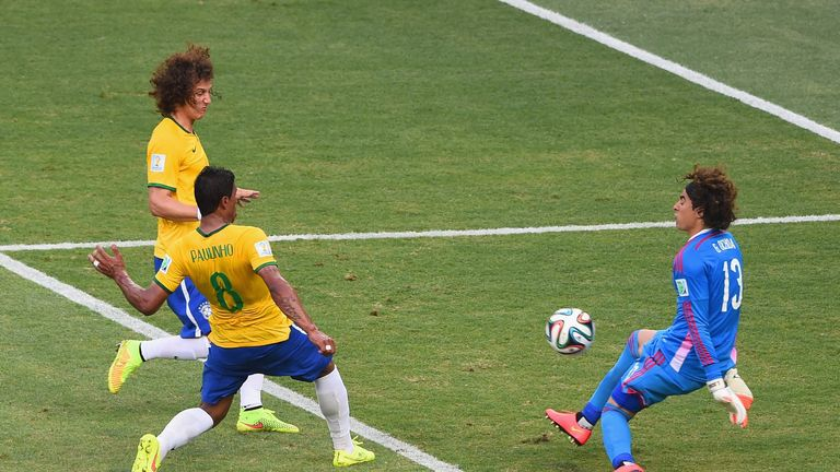 Guillermo Ochoa (R): Made a number of superb saves