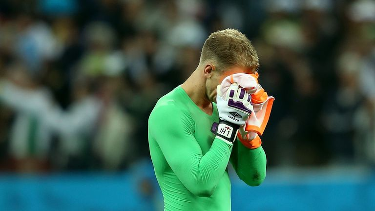 Joe Hart: Woe after Uruguay defeat