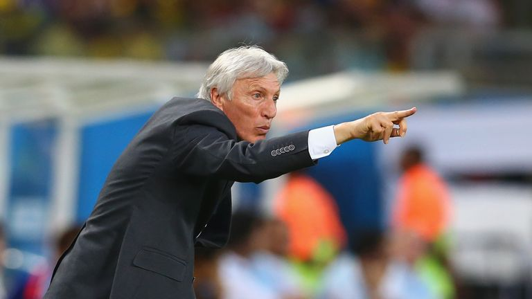 Pekerman: Guided Colombia to third win