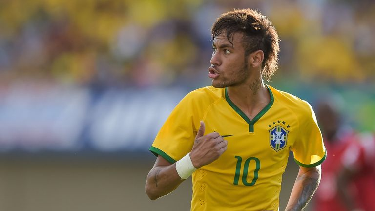 Neymar and Brazil are tipped to shine on home soil