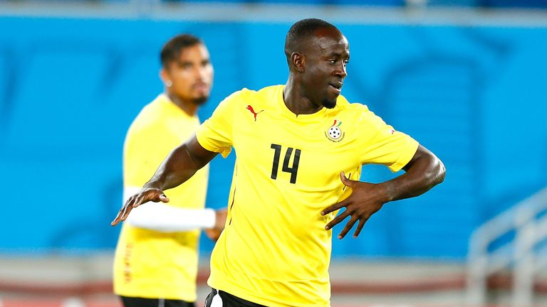 Albert Adomah: Ready for Ghana's opening game