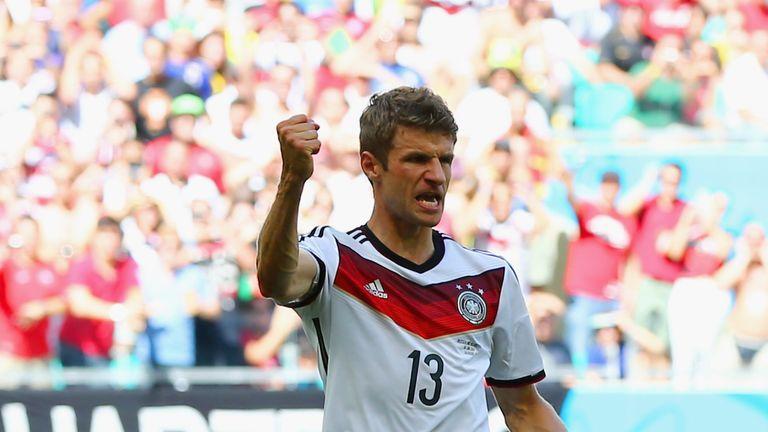 Thomas Muller: Germany's hat-trick hero