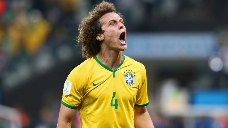 David Luiz: Believes Brazil are up against it at the World Cup