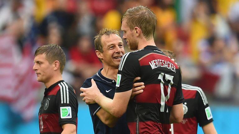 Jurgen Klinsmann: Delighted his side made it through