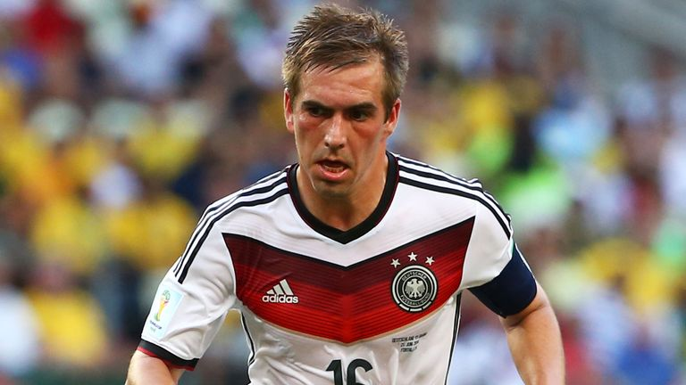 Philipp Lahm: Set to continue in central midfield against France