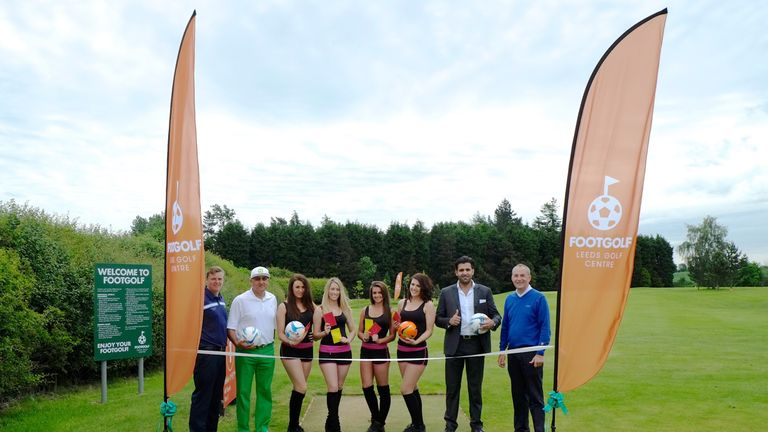 Footgolf launches in Leeds (pic: Leeds Golf Centre)