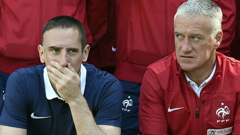 Franck Ribery: Out of France's World Cup squad