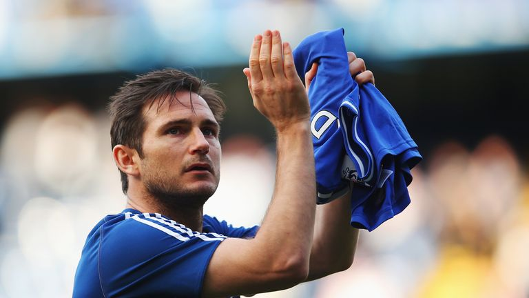 Frank Lampard: Bookmakers Sky Bet are no longer taking bets on his future