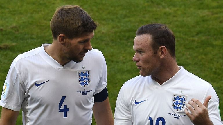 Wilkins backs Rooney to replace Gerrard as England captain