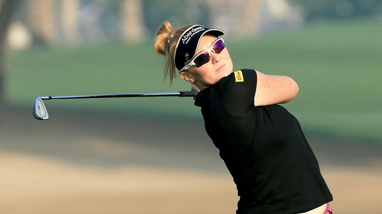 Kylie Walker of Scotland is looking for back-to-back victories on the Ladies European Tour
