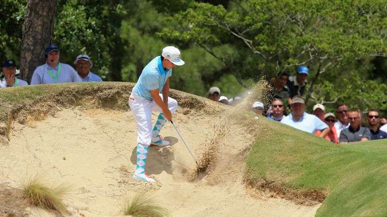 Rickie Fowler in his plus fours