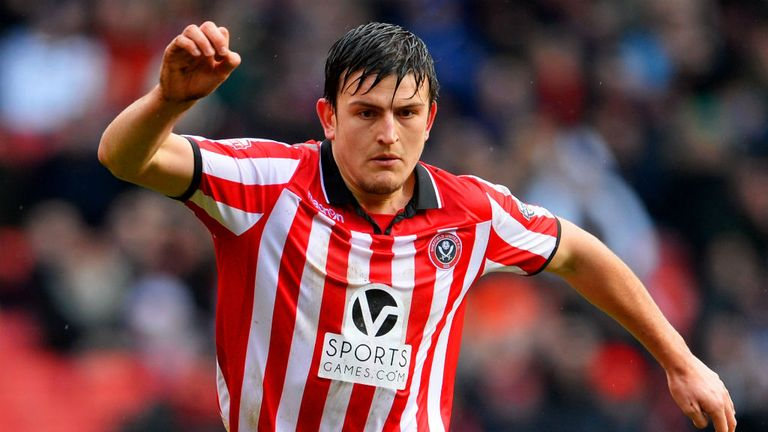 Harry Maguire: Linked with a move away from Sheffield United
