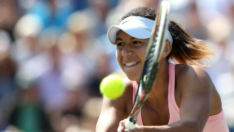 Heather Watson must use Angelique Kerber's power against her on Thursday