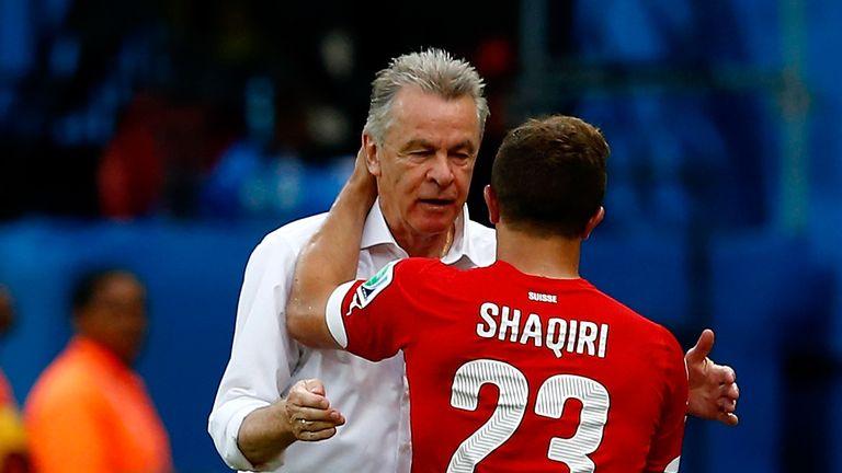 Hitzfeld: Congratulates Shaqiri