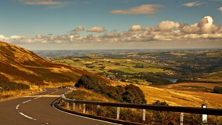 Holme Moss has all the feel of a traditional Tour de France climb