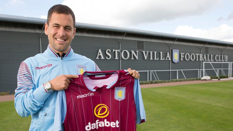 Joe Cole: Aston Villa's new midfielder