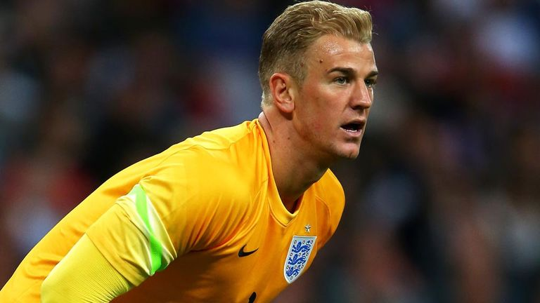 Joe Hart: Sees confidence in England camp