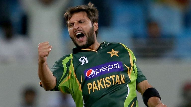 All-rounder Shahid Afridi has been awarded a Category A central contract