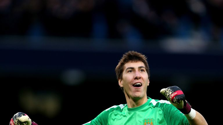 Costel Pantilimon: Has left Man City