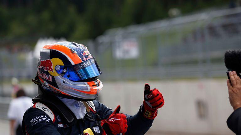 Alex Lynn: On pole in Austria (GP3 Series Media)