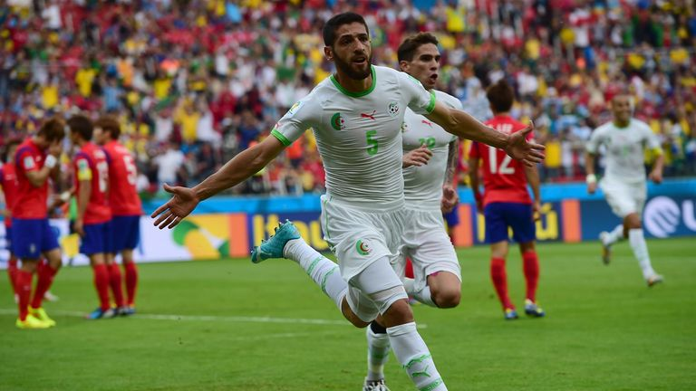 Rafik Halliche: Scored Algeria's second goal
