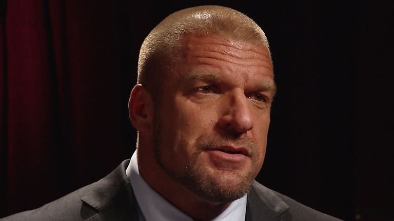 Triple H says he is not bothered by Dean Ambrose's threats