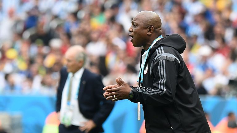 Stephen Keshi: Disappointed with the match officials