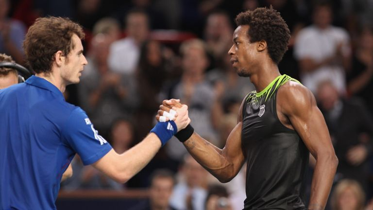 Andy Murray and Gael Monfils have faced each other five times in their professional careers