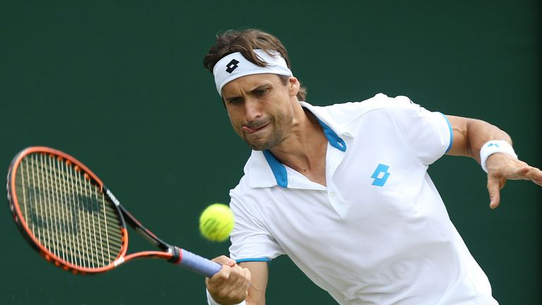 David Ferrer: Beat Victor Hanescu in straight sets
