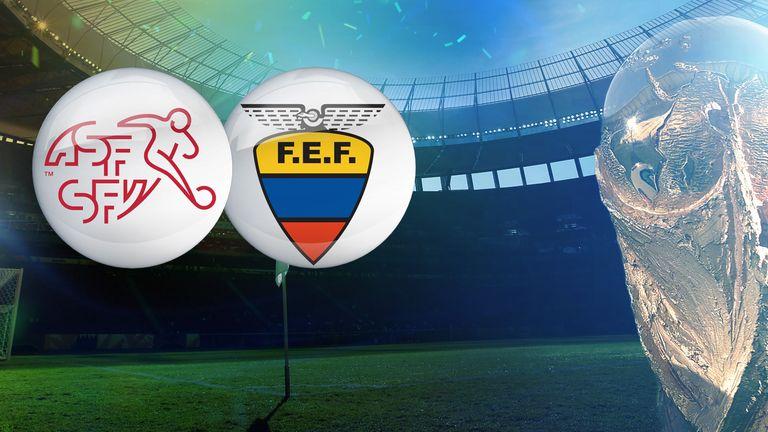 Switzerland v Ecuador: Opening game in Group E