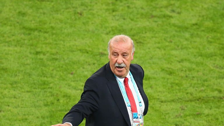 Vicente Del Bosque: Saw Spain lose 2-0 to Chile and exit World Cup