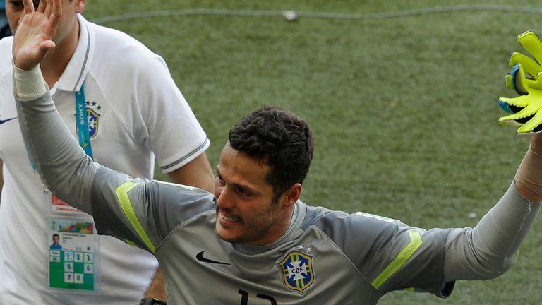Julio Cesar: Brazil's shootout hero