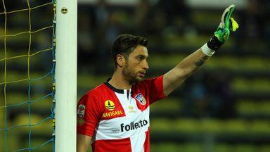 Antonio Mirante: Will travel to Brazil with Italian squad