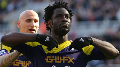 Wilfried Bony: Vital to the Swansea cause