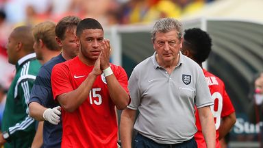 Roy Hodgson: Believes Alex Oxalde-Chamberlain will be ready for World Cup duty
