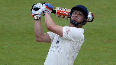 Phil Mustard: Made an unbeaten half-century for Durham to deny Yorkshire victory