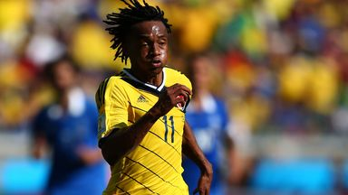 Juan Cuadrado: Heavily linked with a move away from Fiorentina