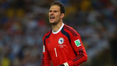 Asmir Begovic: Returning to Stoke after World Cup campaign with Bosnia