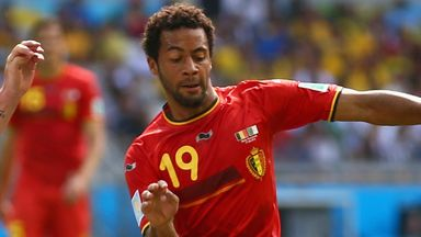 Mousa Dembele will miss Belgium's qualifiers after injuring an ankle during Tottenham's draw with Everton