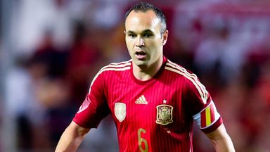 Andres Iniesta: Misses Spain