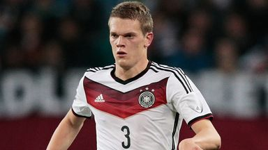 Matthias Ginter: German defender on Borussia Dortmund